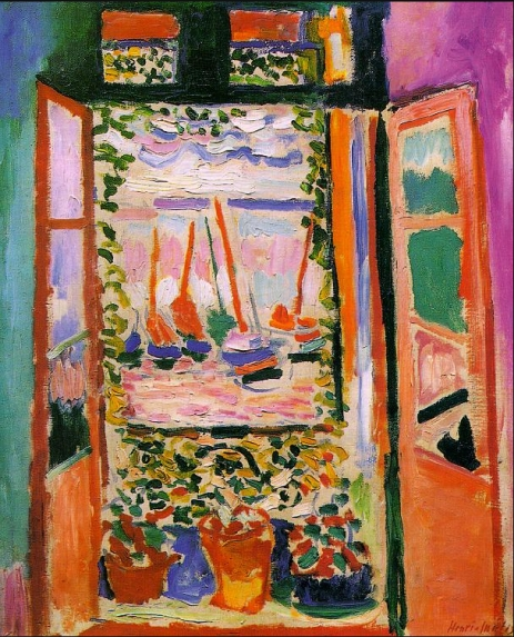 The maritime side of henri matisse marine caf blog for Henri matisse fenetre ouverte