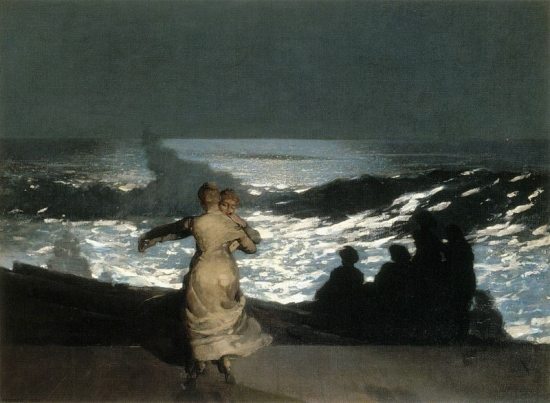 Winslow_Homer_-_Summer_Night