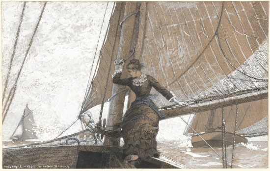 Winslow_Homer_-_Yachting_Girl