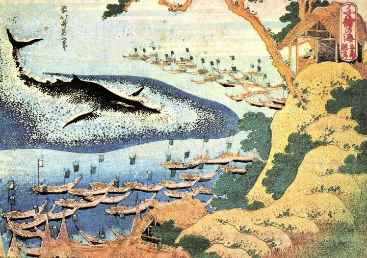 Hokusai_Whaling_off_Goto