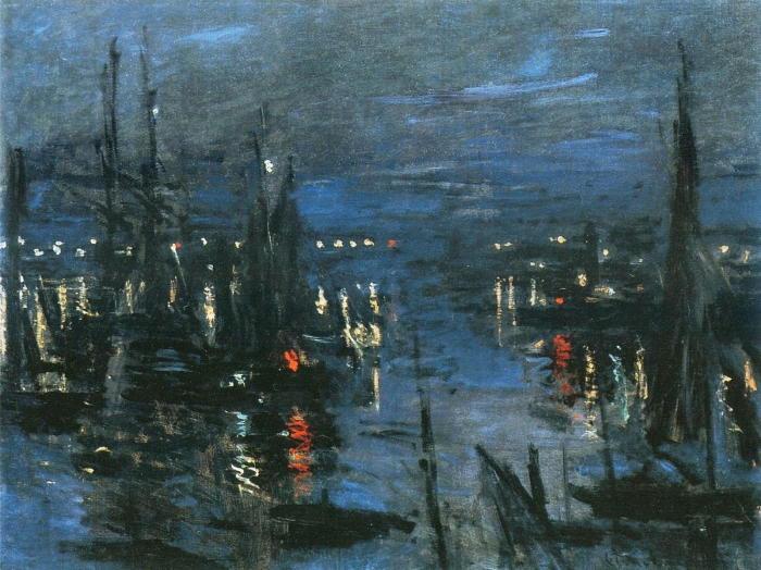 the-port-of-le-havre-night-effect