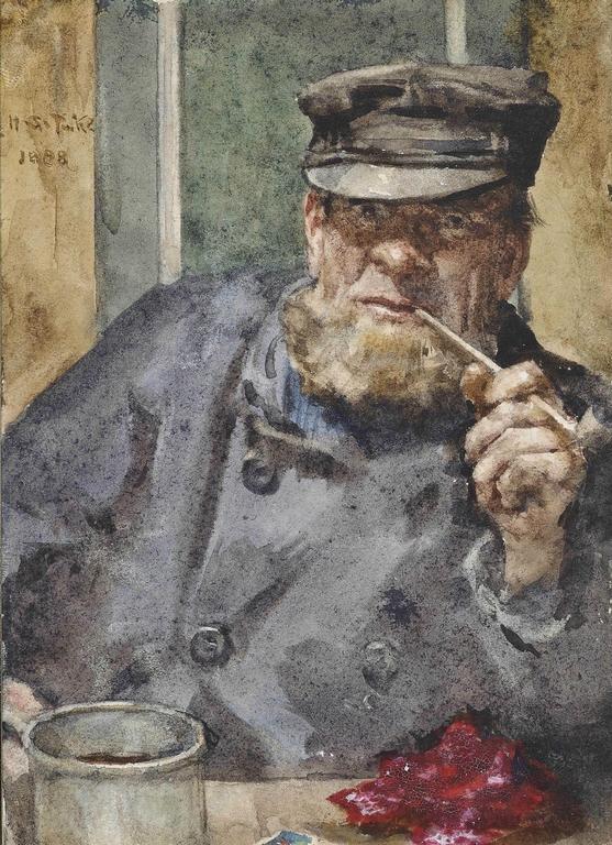 the-old-sea-dog_henry-scott-tuke
