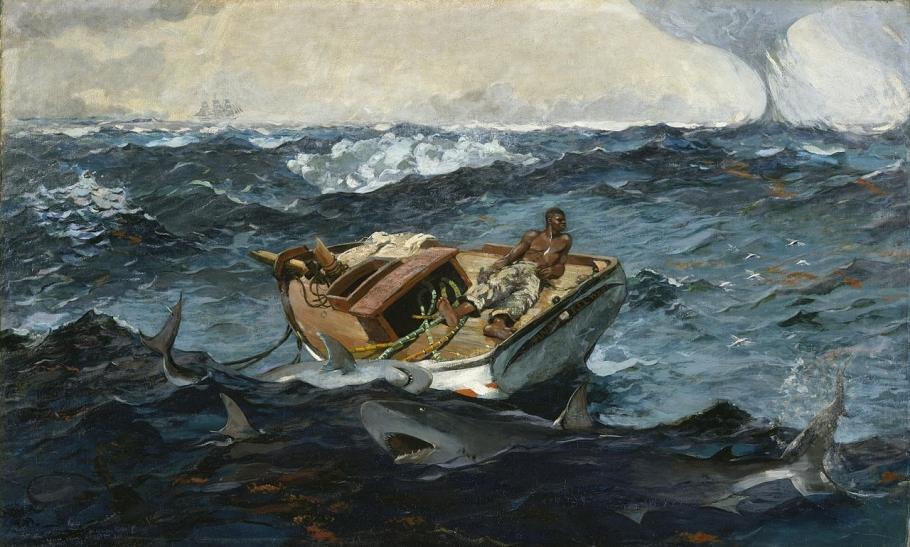 Spellbound by Winslow Homer's marine art