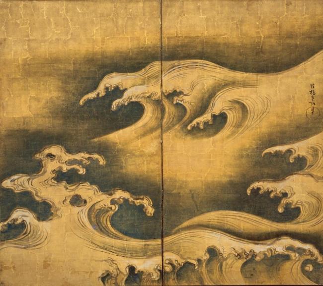 Ogata-Korin_Rough-waves