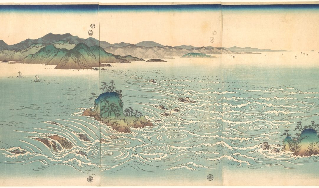 The way of the sea in Japanese woodblock prints