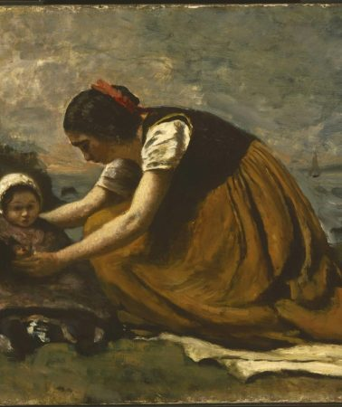 Mother and child by the sea: art to honour mothers