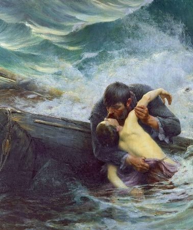 The noble tradition of saving lives at sea in art