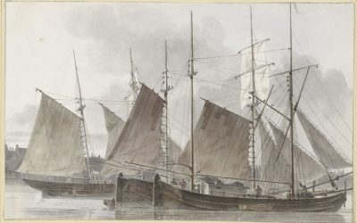 Dutch marine art: great drawings of boats and ships