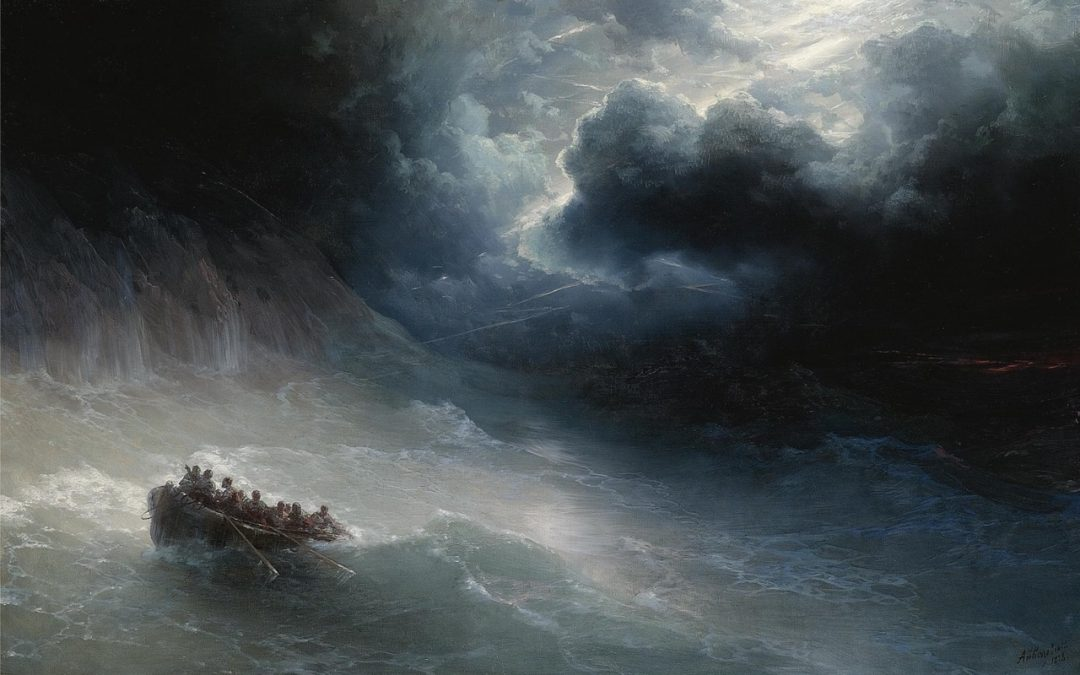 Life and death drama: sea rescues in art