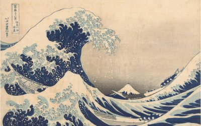 Beauty and terror: ocean waves in Japanese art