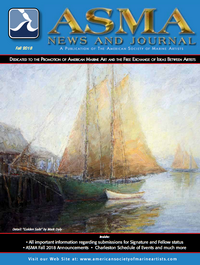 The American Society of Marine Artists – ASMA News and Journal, Fall 2018
