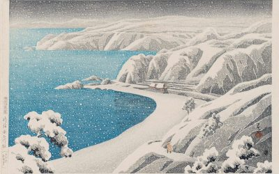 A dream of snow: seven cool seascapes by various artists