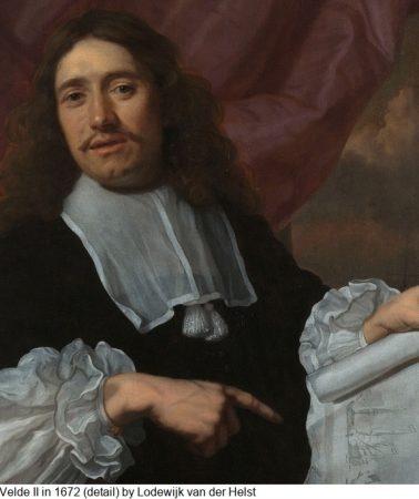 The marvellous marine art of Willem van de Velde II