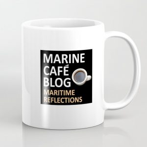 Marine Cafe Blog Coffee Mug
