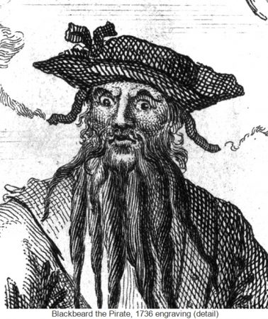 Fire and fury: The varied faces of Blackbeard the Pirate