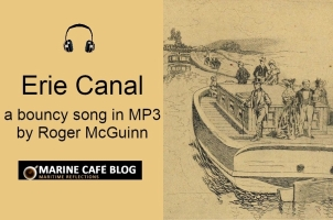 Erie Canal by Roger McGuinn (a bouncy song in MP3)