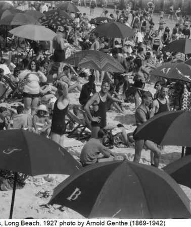 Crowded beaches and thoughts about the human herd