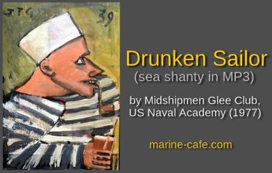 Drunken Sailor by Midshipmen Glee Club, USNA (sea shanty in MP3)