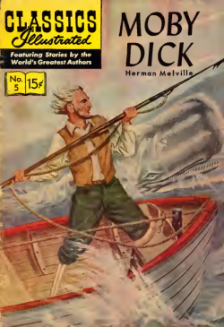 Moby Dick by Herman Melville (comics version)