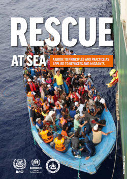 Rescue at Sea: A Guide to Principles and Practice as Applied to Refugees and Migrants
