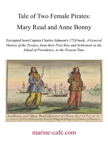 Tale of Two Female Pirates: Mary Read and Anne Bonny