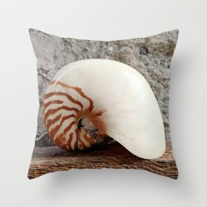 Seashell Series (No. 1) Throw Pillow