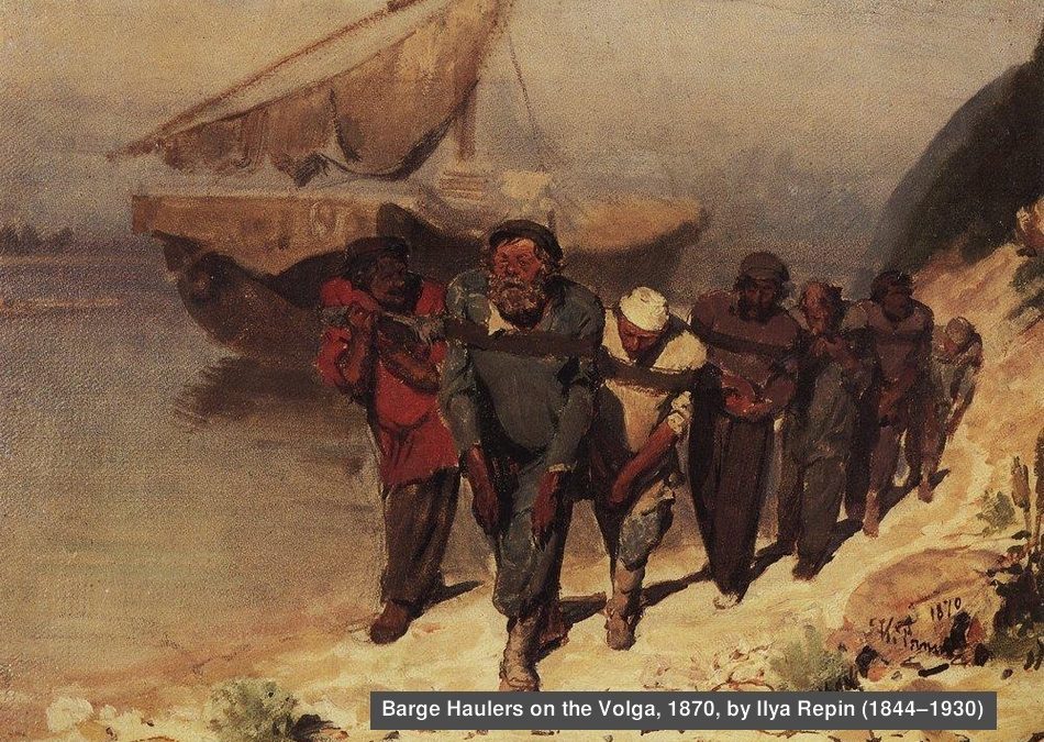 The Song of the Volga Boatmen: Hail to the human spirit