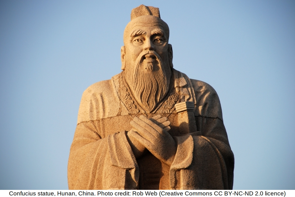 Cool lessons from Confucius for today's ship officers