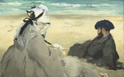 Lovers by the sea: A timeless celebration in art