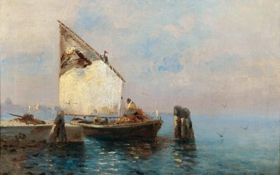 Leontine (Leo) von Littrow: A gifted woman and her seascapes