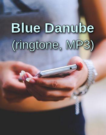 Blue Danube (waltz music ringtone, MP3)