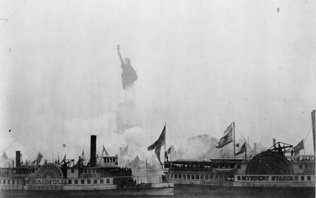 Light in the harbour: The Statue of Liberty in old photographs