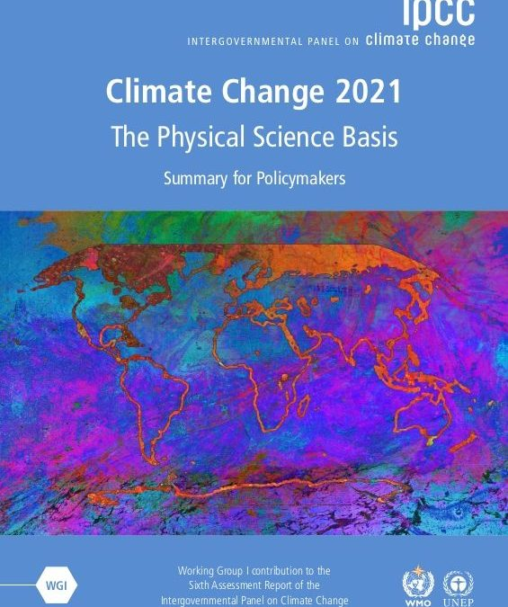 Climate Change 2021: The Physical Science Basis — Summary for Policymakers