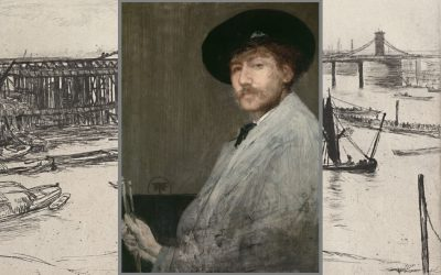James McNeill Whistler's wonder-full waterfront etchings