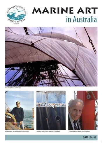 Marine Art in Australia (newsletter, issue 2012 No. 63)