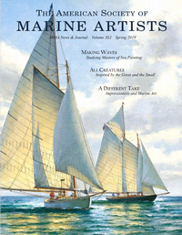 The American Society of Marine Artists – ASMA News and Journal, Spring 2019