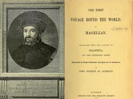 The First Voyage Round the World, by Magellan