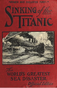 Sinking of the Titanic by Thomas H. Russell