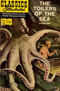 Classics Illustrated — Toilers of the Sea by Victor Hugo